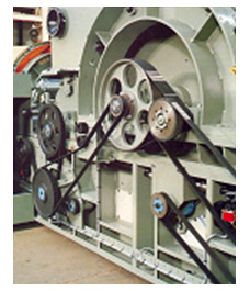 Variable Speed Pulley For MBO Machines