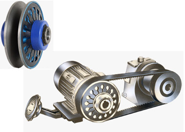 Adjustable Center Variable Speed Pulley Drives With